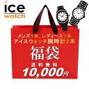 福袋 2021 レディース アイスウォッチ 腕時計 2本セット ブランド ウォッチ ICE WATCH 数量限定 送料無料 ...