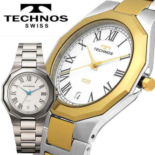腕時計, メンズ腕時計  TECHNOS 3 T9624CW T9624TW