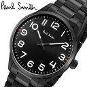 【楽天スーパーSALE】【半額 50%OFF】ポールスミス Paul Smith 腕時計 メンズ ブラック ステンレス シンプル クラシック ブランド 人気 ウォッチ ギフト プレゼント P10066 ギフト