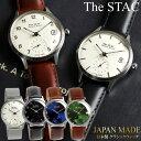 The STAC ザ・スタック 日本製 腕時計 ウォッチ 革ベルト レザー 36mm クラシック メンズ レディース ユニセックス スタック ランキング ギフト・・・