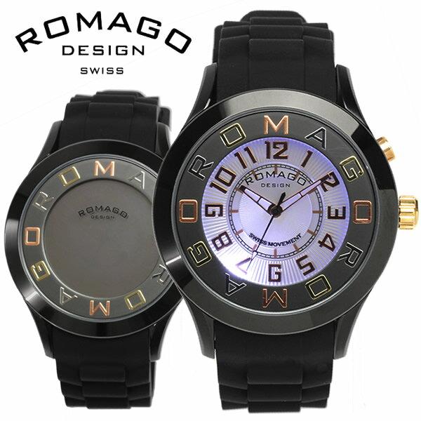 腕時計, メンズ腕時計 ROMAGO ATTRACTION 3 RM015-0162PL