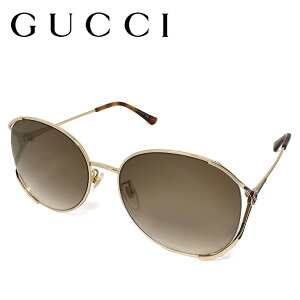 GUCCI グッチ サングラス アイウェア ブランド UVカット レディース 夏 日よけ 日焼け対策 gg0650sk-003