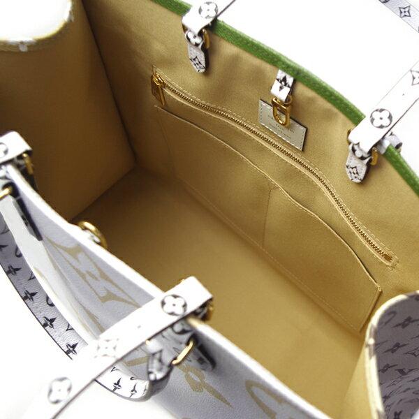 ルイヴィトン バッグ レディース モノグラム ジャイアント オンザゴー M44571 クレーム