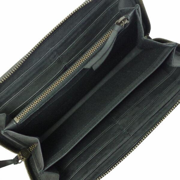 バレンシアガ 本革 長財布 レディース メンズ クラシック 443521 DRU1T 3698 ブラック