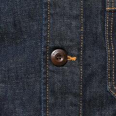 Siviglia Heavy Denim Jacket O1N3-S403: Degradable Blue