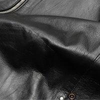 【送料無料】Delan/ディラン【国内正規品2019秋冬】ラムレザーシングルライダース【GIULIANO】