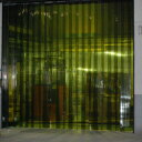 害虫侵入防止 異物混入を防止 オプトロンカーテン2-300L(2mm厚×300mm幅) 30m巻 リブ防虫カーテン
