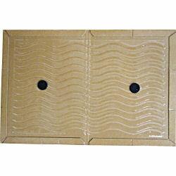 ネズミ駆除用粘着シート ニューピタラットEL 100枚入 安価版 ねずみ粘着板