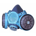 取替え式防じんマスク 7191DK-XDB型 [130230] 興研 【作業 安全 マスク 防塵 防じん アスベスト 除去 ダイオキシン 伝声器 話せる】【HD】
