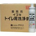イブキトイレ用洗浄剤 800ml×15本 酸性 業務用 [強力・粘性タ...