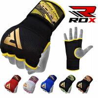 RDX バンテージ 両手セット インナーグローブ ボクシング ムエタイ 格闘技 MMA 簡単 バンテージ トレーニング マジックテープ 拳サポーター 全6色