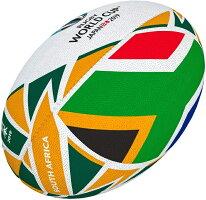 ギルバートGILBERT2019年ラグビーワールドカップ南アフリカフラッグボール5号球RWC2019日本開催ラグビーボールグッズ