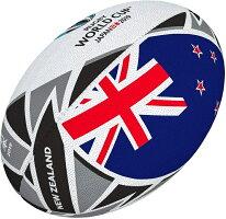 ギルバートGILBERT2019年ラグビーワールドカップニュージーランドフラッグボール5号球RWC2019日本開催ラグビーボールグッズ