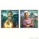 カナダ切手 ABRAHAM DORAS SHADD&ROSEMARY BROWN 2枚【メール便配送(ポスト投函)、代引不可】