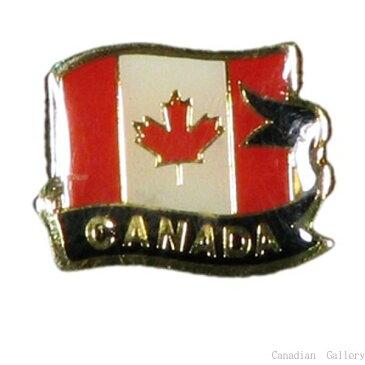 ピンバッジ カナダ国旗 1個 【メール便可】rp