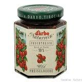 【2瓶】ダルボ ガーデン リンゴンベリー ジャム 200g 果肉70%使用、甘すぎない糖度約41度のジャム オーストリア製沖縄は一部送料負担ありsrk