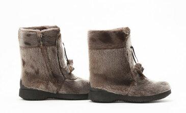 寒さに強い防寒靴 カナダ製 アザラシブーツ『Alaska』 大きいサイズ10=27.0cm程度