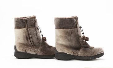 寒さに強い防寒靴 カナダ製 アザラシブーツ『Alaska』 大きいサイズ10.5=27.5cm程度