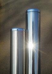 48.6mm鉄杭パイププロ用ドブメッキだから錆に強い