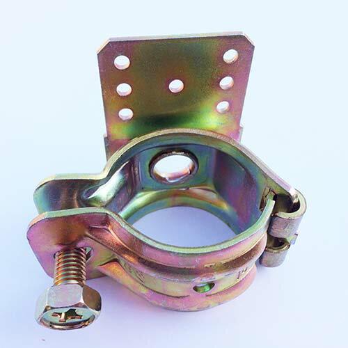 パネルクランプクランプ金物DIY工具単管クランプ42-48mmxプレート板自在(直交並列自由自在)DIY板とパイプつなぎ止め金具