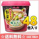 アサヒグループ食品 おどろき野菜 梅おろし 48個入〔春雨入...