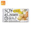 〔クーポン配布中〕アサヒグループ食品 クリーム玄米ブラン 豆乳カスタード 48個入