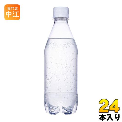 コカ・コーラ カナダドライ ザ タンサン ストロング ラベルレス 430ml ペットボトル 24本入〔炭酸水〕