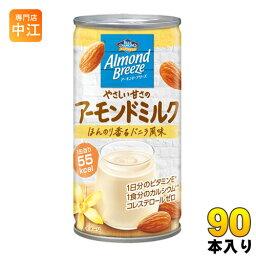 ポッカサッポロ アーモンド・ブリーズ やさしい甘さのアーモンドミルク 185g 缶 90本 (30本入×3 まとめ買い)