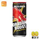 コカ・コーラ リアルゴールド ドラゴンブースト 250ml 缶 60本 (30本入×2 まとめ買い) 〔炭酸飲料〕