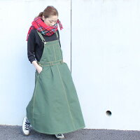 ◎フレアサロペットスカート