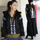 刺繍トレーナー・ジャケット