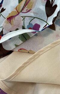 【ゆるふわ花ワンピース】四季カーディガン・ジャケットに。パーティに。
