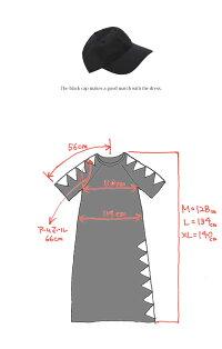 ダイヤモチーフワンピース140cm/134cm/128cm