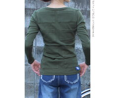 ポケット&ポケット長袖シャツ