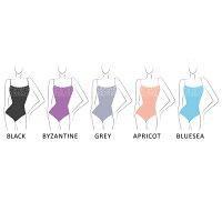 VIVA(Wearmoi/ウェアモア)大人バレエレオタードスカートなしシンプルキャミソールバレエ用品/バレエウェア/バレエレオタード