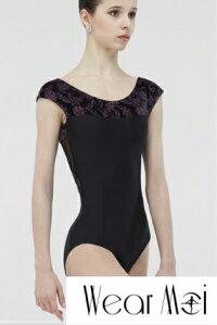 大人気のキャップスリーブ♪PEARL(Wearmoi/ウェアモア)レディスバレエレオタードスカートなしバレエ用品/バレエウェア/バレエ衣装/ジュニア&大人用