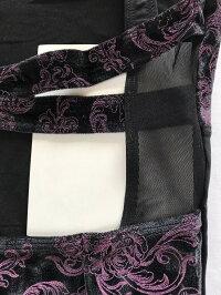 EMPIRE(Wearmoi/ウェアモア)レディスバレエレオタードスカートなし花柄ベロアバレエ用品/バレエウェア/バレエ衣装/ジュニア&大人用