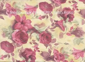 【4柄大きいサイズバレエスカート】花柄ジュニア&大人用トゥリーナラップスカート(スタンダードタイプ)巻きスカートレッスン用(16インチXL)