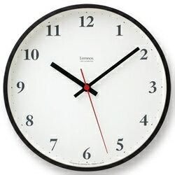 【店内P最大20倍】定番となったプライウッドシリーズLC05-02の電波時計バージョン。ブラウン。Lemnos (レムノス) Plywood clock 電波時計 ブラウン (LC10-21W BW) (送料無料)