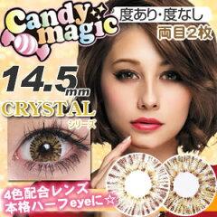 ダレノガレ明美 カラコン キャンディーマジック CRYSTAL 度あり 度なし Candymagic 1ヵ月使用 ...