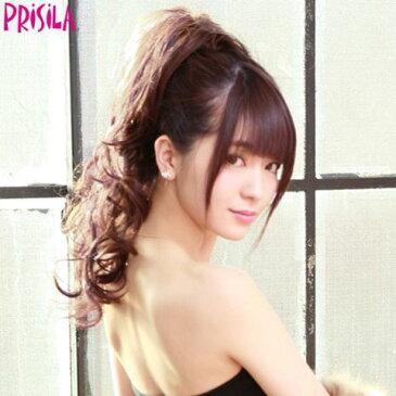 耐熱ストレッチウィッグ【Jカール AC-77耐熱】(PRISILA プリシラ)【sybp】