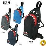 【SiShuNon/SKAPE】シシュノンエスケープワンショルダーボディバッグシャークサメ
