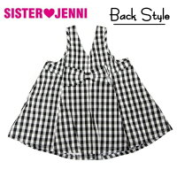 【JENNIBABY】ジェニィベビーギンガムチェック・ジャンパースカート(80・90)064036