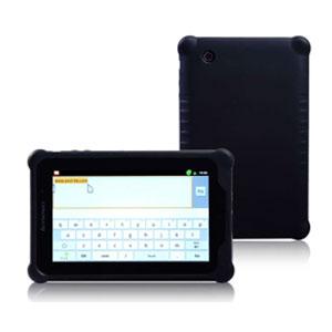 [送料無料]人気で品薄 人気の5色 Lenovo(レノボ) IdeaPad Tablet A1シリーズ対応 最新シリコン保護カバーケース Lepad A1-07サイズ 22283CJカーボンブラックに最適