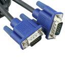 [送料無料]高音質VGAケーブル ディスプレイケーブル アナログRGBケーブル VGAケーブル ミニD-Sub 15pin(3列/15ピン/15pin)を使用したPCやディスプレイ用のケーブル [高画質なアナログ映像信号を伝送可能/ノートパソコン/グラフィックボード][約3m]
