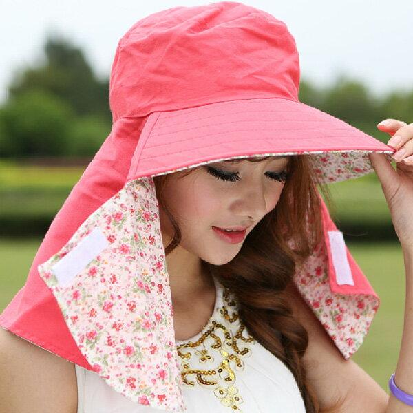 レディース 日焼け対策バツグン女性用帽子