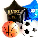 送料無料!野球・サッカー・バスケット 好きなメッセージが入れられちゃうアイブレックスのスターバルーンブーケ  ibrex ヘリウムガス入り メッセージバルーン ロゴ入れ 誕生日 スポーツイベント・・・