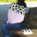 授乳ケープ 授乳カバー 日本製 綿100% ワイヤー入り&ポーチ付き【出産祝い】贈り物/キャンディココ・モウモウピンク【楽ギフ_包装選択】【楽ギフ_のし宛書】【楽ギフ_メッセ入力】