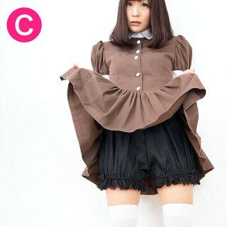 【メイド服にはかぼちゃパンツ♪】大人気!メイドさんの必須アイテム♪見えても安心、カボチャパンツ(ブラック)(ドロワーズ)