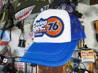 アメリカンオイルカンパニーのメッシュキャップ(ユノカル76)★帽子★アメリカ雑貨★アメリカン雑貨帽子